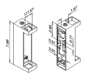 Model 4558 Dimensions