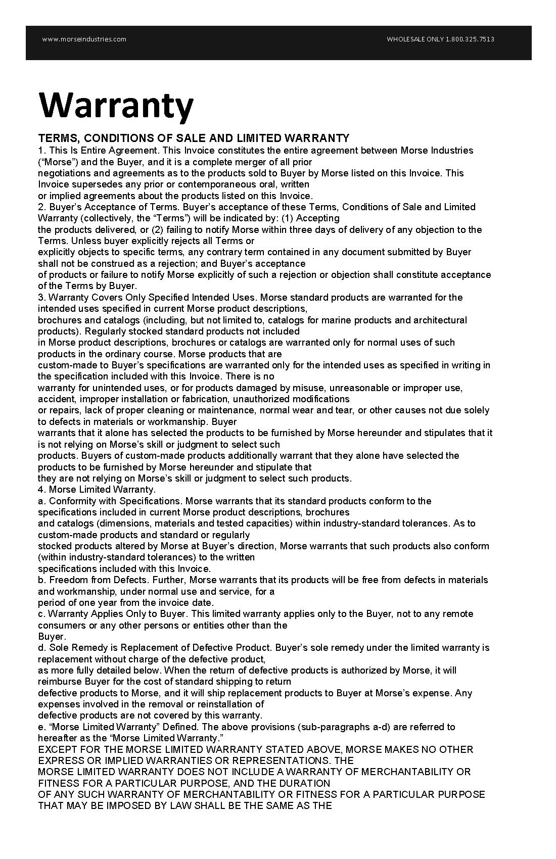 Morse Warranty_Page_1