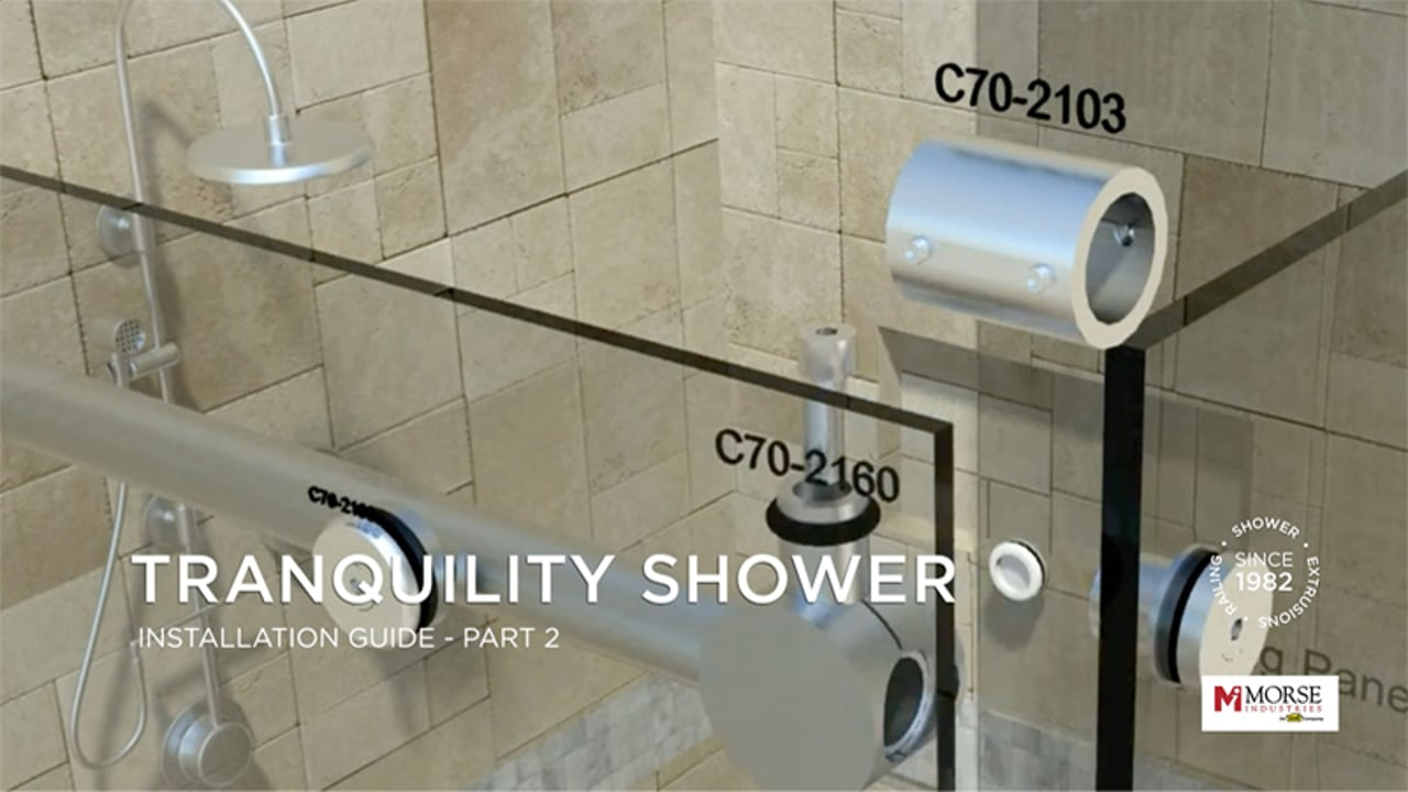 Tranquility Shower Installation Guide Part 2