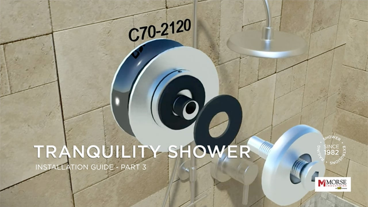 Tranquility Shower Installation Guide Part 3