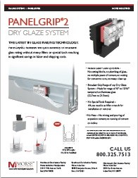 PanelGrip® 0073 Dry Glaze System Data Sheet