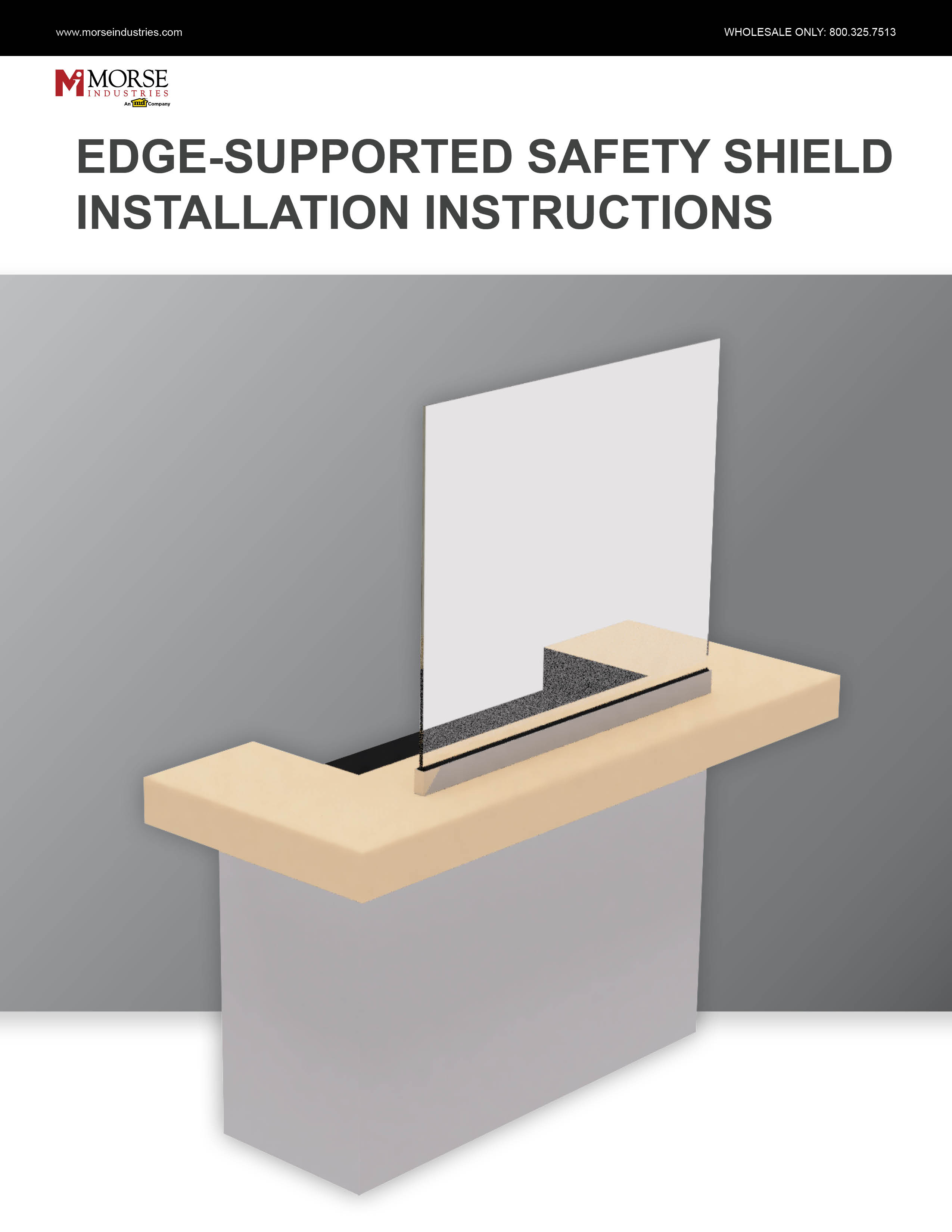 Edge-Supported Installation Instructions