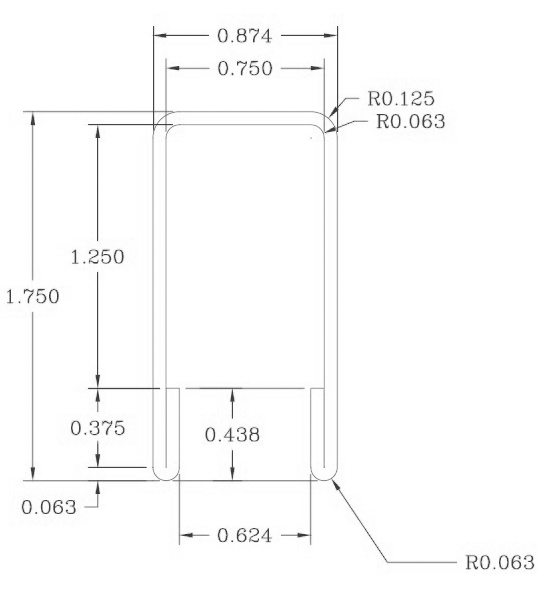 S16-0134 Dimensions