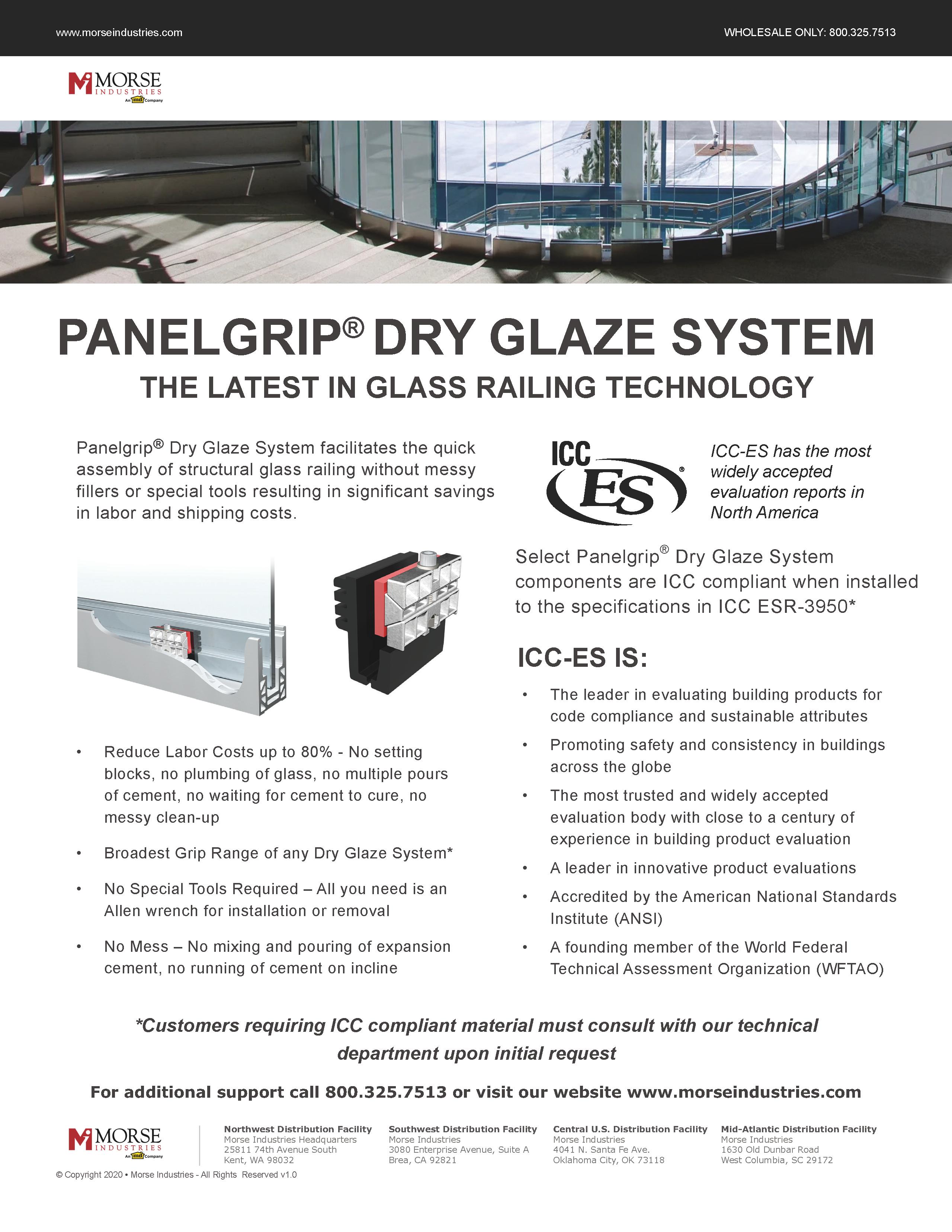 Panelgrip® Dry Glaze System