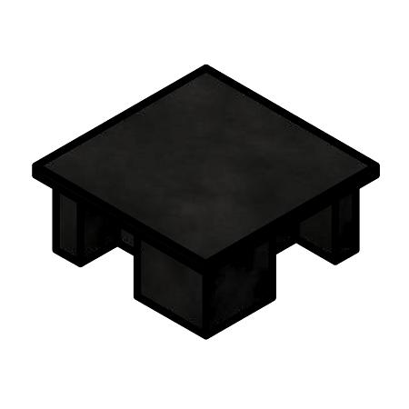 BLACK NYLON TOP CAP