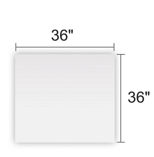 Clear Acrylic 36x36