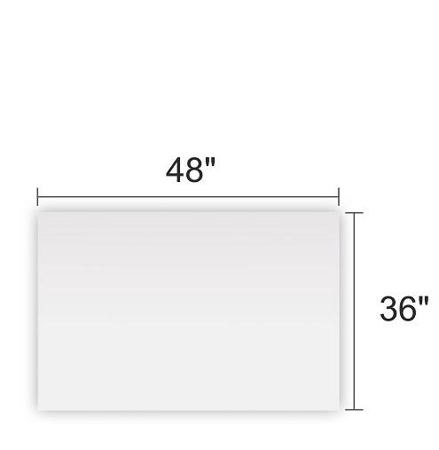 Clear Acrylic 48x36