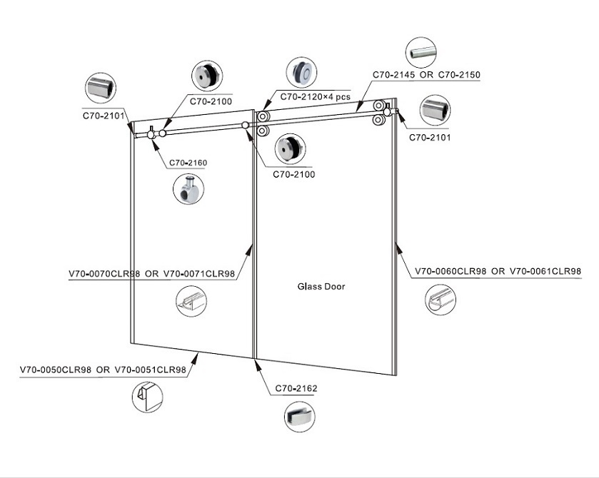 Tranquility Shower System Diagram